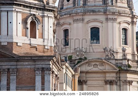 Roman Architecture,historic Buildings, Italy