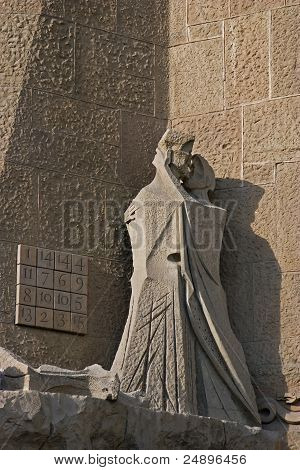 Figure of the Judas kiss