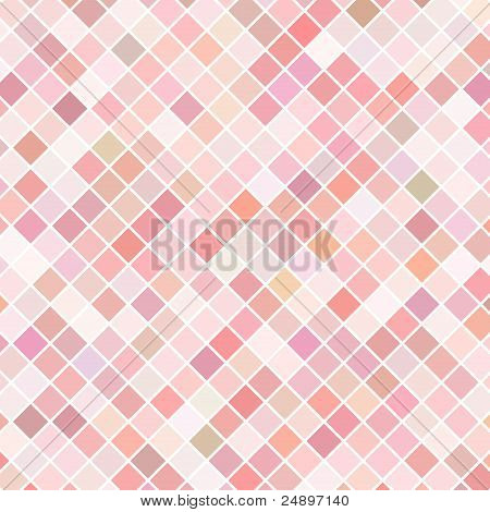 Pink mosaic vector background