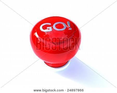 campainha de botão vermelho