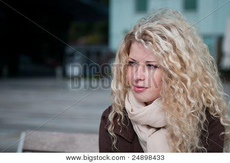Woman Portrait - Outside