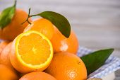 Healthy Fruits, Orange Fruits Background Many Orange Fruits - Orange Fruit Background. poster