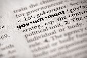 Dictionary Series - Politics: Government