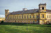 Former Mediaeval Castle In Veseli Nad Moravou, Small Town In Historical Moravia Region, Czech Republ poster