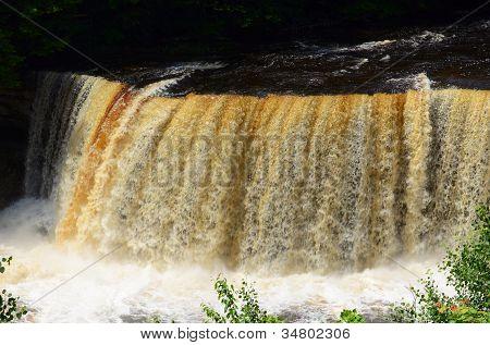 Upper Tahquamenon Falls Near Paradise Michigan