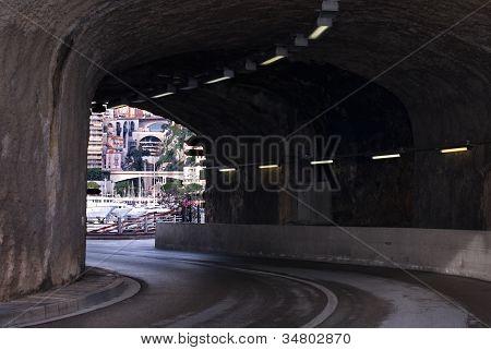 Road Tunnel, Monte Carlo, Monaco