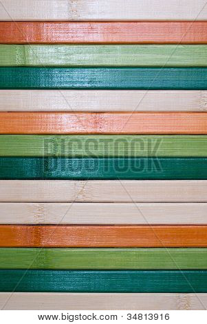 Backgrounds Collection - Multi Colored Wooden Plank Wall