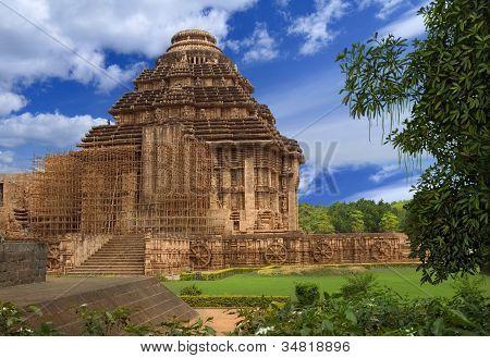 Sun Temple. Konark, Orissa, India