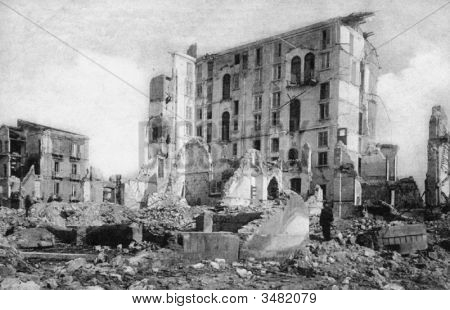 Messina After 1908 Earthquake