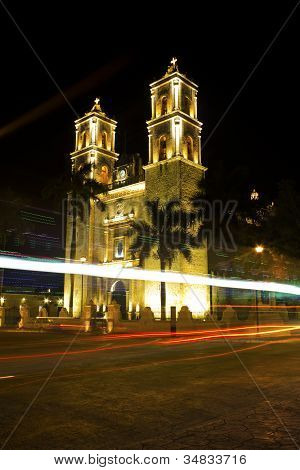 Church of San Servacio, Valladolid, Mexico