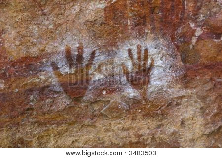 Painted Hands Prints