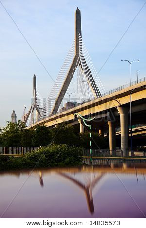 The Leonard P. Zakim Bunker Hill Memorial Bridge
