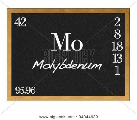 Molybdenum.