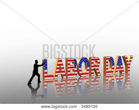 Labor Day Corner Graphic
