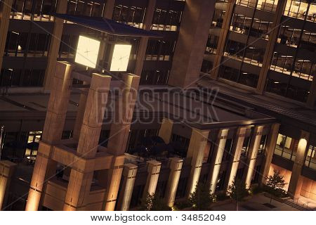 Torre do relógio em Des Moines