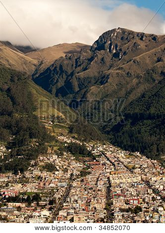 Beneath the Andes Mountains