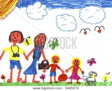 Happy Family In Happyland