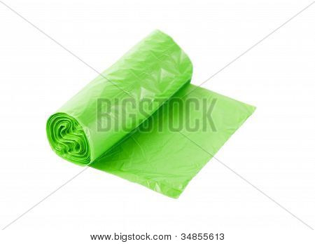 Roll Of Plastic Garbage Bag