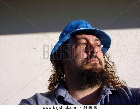 Man In Fly Hat
