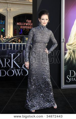 LOS ANGELES - MAY 7: Eva Green at the premiere of WB Pictures' 'Dark Shadows' at Grauman's Chinese Theater on May 7, 2012 in Los Angeles, California