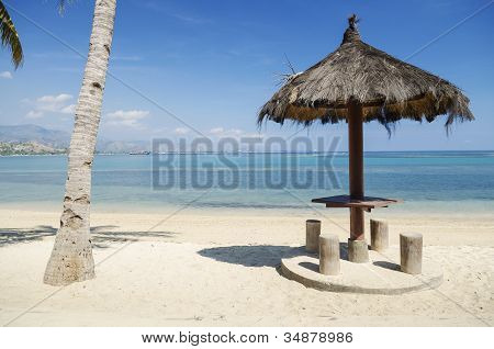 Beach Near Dili East Timor