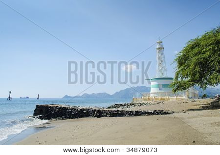 Lighthouse In Dili East Timor