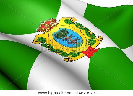 Flag Of Durango, Mexico.