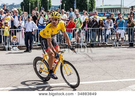 Yellow Jersey- Fabian Cancellara
