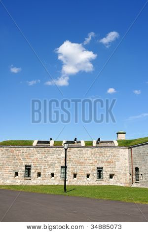 The Citadelle Of Quebec City