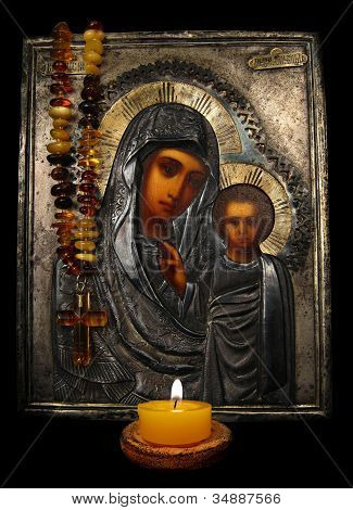 Icon And Candle