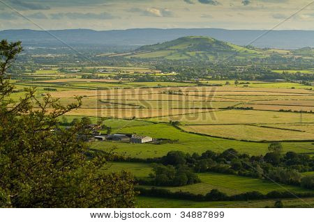 Brent Knoll in Somerset