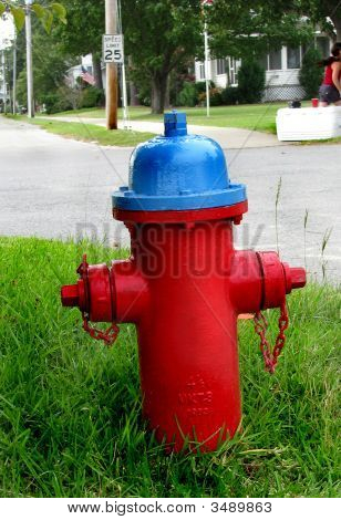 Fire Hydrant In Small Country Town