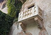 image of juliet  - The balcony of Romeo and Juliet in Verona Italy - JPG