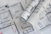 Architectural Plan Drawings poster