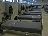 picture of bunk-bed  - military bunks - JPG