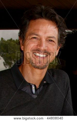 LOS ANGELES - APR 15:  Benjamin Bratt at the Jack Wagner Celebrity Golf Tournament benefitting the Leukemia & Lymphoma Society at the Lakeside Golf Club on April 15, 2013 in Toluca Lake, CA