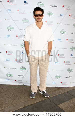 LOS ANGELES - APR 15:  Brandon Beemer at the Jack Wagner Celebrity Golf Tournament benefitting the Leukemia & Lymphoma Society at the Lakeside Golf Club on April 15, 2013 in Toluca Lake, CA