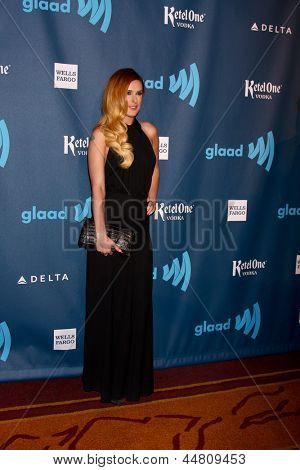 LOS ANGELES - APR 20:  Rumer WIllis arrives at the 2013 GLAAD Media Awards at the JW Marriott on April 20, 2013 in Los Angeles, CA