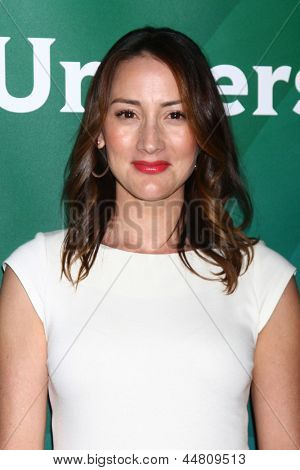 LOS ANGELES - APR 22:  Bree Turner at the NBCUniversal Summer Pres Day 2013 at the Huntington Langham Hotel on April 22, 2013 in Pasadena, CA