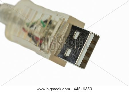 usb cable, symbol photo for networking, data transfer and internet