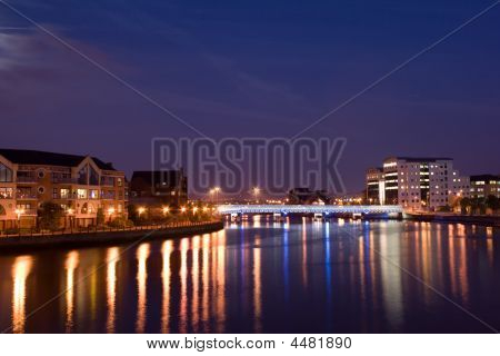 Belfast, Upriver On The River Lagan