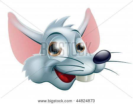 Cartoon Rat Face