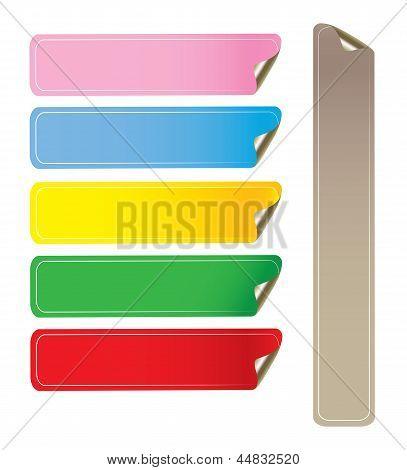 Adesivi Colorati Vertical