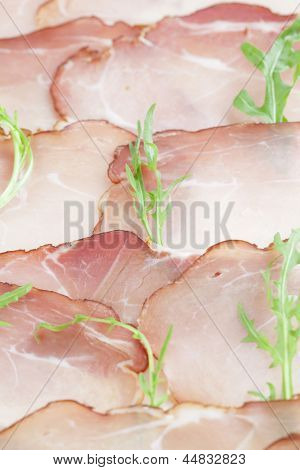 Prosciutto And Arugula