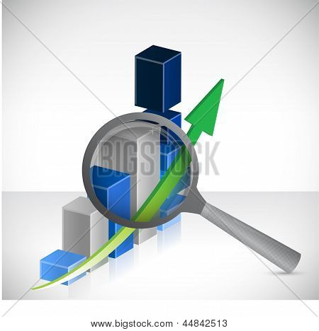 Business Results Under Review Concept Illustration