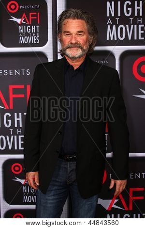 LOS ANGELES - APR 24:  Kurt Russell arrives at the AFI Night at the Movies 2013 at the ArcLight Hollywood Theaters on April 24, 2013 in Los Angeles, CA