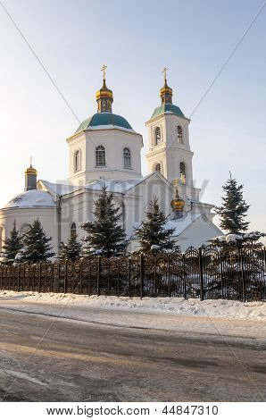 Orthodox church in Omsk, Siberia