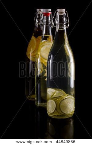 Citrus Infusion In Bottles