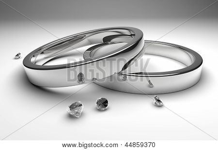 Wedding Rings With Diamond
