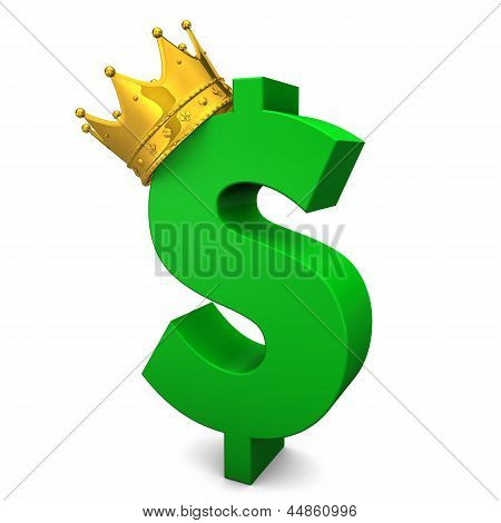 Green Dollar Golden Crown